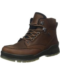 Ecco Track 25 High Gore-tex Waterproof Outdoor Hiking Boot - Brown