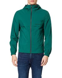Tommy Hilfiger Tech Hooded Jacket Chaqueta - Azul