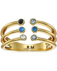 Rebecca Minkoff - Ombre Bubble Claw Ring - Lyst