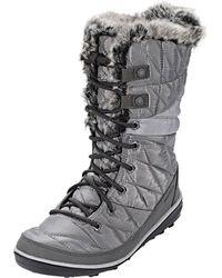 Columbia Heavenly Omni-heat Quarry/dove Boot 12 B (m) - Grey