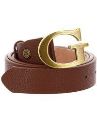 Guess Destiny Adjustable Pant Belt W85 Cognac - Marron