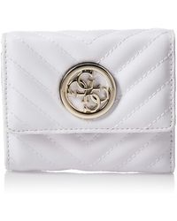 Guess Blakely SLG Small Trifold White - Blanc