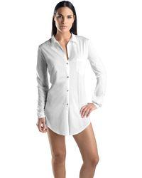 Hanro Camicia da Notte - Bianco