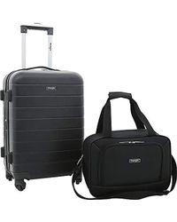 5f2b24381 American Tourister Fieldbrook Ii 2-piece Luggage Set in Black for ...