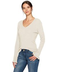 Jones New York - V'nk P/o With Fitted Body And Ruffle Slvs - Lyst
