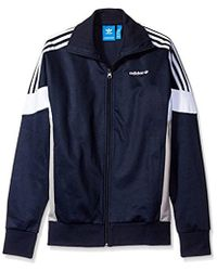 lyst adidas originals petersburg herausforderer jacke in