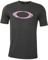 Oakley - Ellipse USA Pattern Tee T-Shirt - Lyst