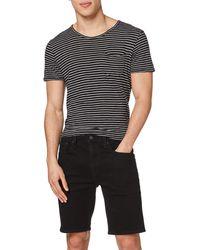 "Levi's 502 Taper Shorts 10"" Pantalones Cortos - Negro"