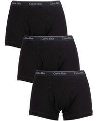 Calvin Klein - Shorty Lot de 3 95 - Lyst