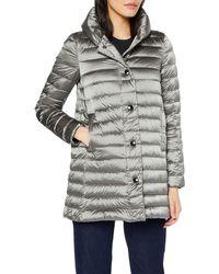 Geox W Jaysen Coat Coat - Grey