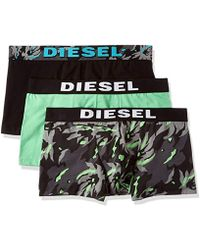 DIESEL - 3-pack Shawn Stretch Boxer Trunk - Lyst
