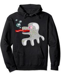 HUGO Monster Pullover Hoodie - Black