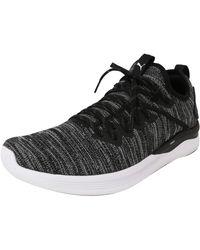 PUMA Ignite Flash Evoknit Running Shoes - Black