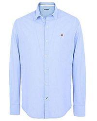 Napapijri Garoh T-Shirt À Manches Longues - Bleu