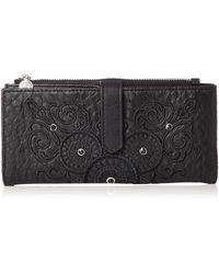 Desigual - Pia Medium Wallet Majestic Pia Medium Wallet Negro - Lyst