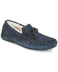 Hackett Wentworth Slipper Loafers / Casual Shoes - Blue