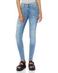 G-Star RAW Damen Lynn D-Mid Super Skinny Jeans - Blau
