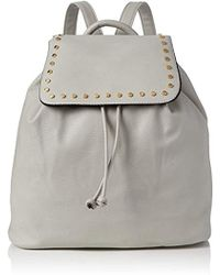 Miss Selfridge - S Studded Backpack Grey (grey) - Lyst