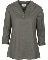 Mountain Warehouse 100% Cotton Voile Ladies Summer - Grey