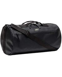 Lacoste S 2019 L.12.12 Concept Coated Canvas Roll Bag - Black