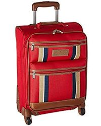 """Tommy Hilfiger Unisex Scout 4.0 21"""" Upright Suitcase - Red"""