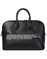 Calvin Klein Medium Duffle -Tasche K60K606861 BDS Black - Schwarz