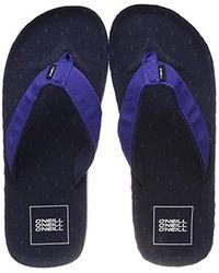 O'neill Sportswear FM Chad Structure Sandals Zehentrenner - Blau