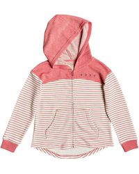 Roxy Sweat à Capuche zippé - Fille 8-16 Ans - Multicolore