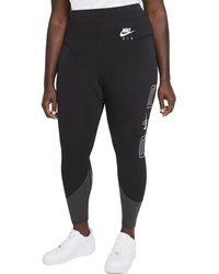 Nike W NSW Air HR LGGNG Leggings - Negro