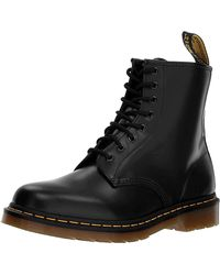 Dr. Martens 1460 Patent Lamper 8-Eye Boots - Negro
