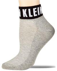Calvin Klein Modern Logo Quarter Sock - Grigio