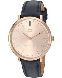 Tommy Hilfiger Reloj analógico para mujer 1781693 - Metálico