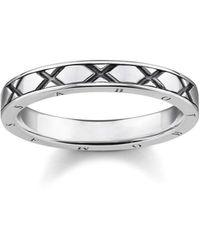 Thomas Sabo Ring asiatische Ornamente 925 Sterlingsilber - Mettallic