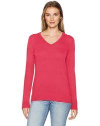 Amazon Essentials - Maglione Leggero con Scollo a V. Pullover-Sweaters - Lyst
