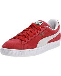PUMA Suede Classic+ Sneaker - Rot