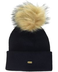 Superdry Heritage Ribbed Beanie Cagoule - Bleu