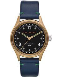 Ted Baker Bkpblf907 S Beleeni Watch - Black