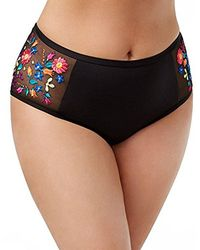 Kenneth Cole Reaction - Plus Size Garden Groove Embroidered High Waist Pant - Lyst