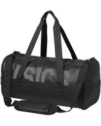 Asics Tr Core Holdall M 155004-0904 Messenger Bag 49 Centimeters 25 Black