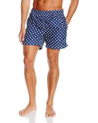 GANT Stars Swim Shorts L.f. - Blue
