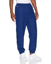 Lacoste Sport Xh120t Sports Trousers - Blue