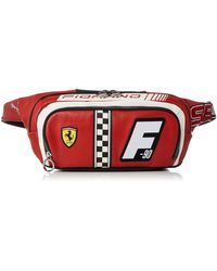 PUMA Ferrari Cat Crossbody Bag Rosso Corsa Osfa - Red