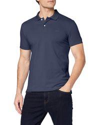 Esprit 999ee2k803 Polo Shirt - Blue