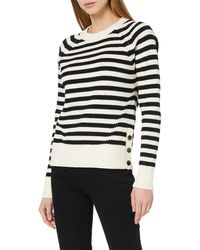 Scotch & Soda Chunky Cotton Blend Knit With Button Detail At Side Jumper - Multicolour