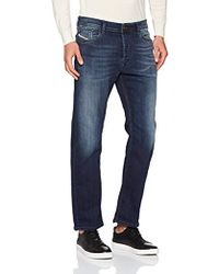 98bc23f6 DIESEL Waykee 0886z Regular-fit Stretch-denim Jeans in Blue for Men ...