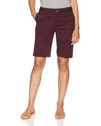 """Amazon Essentials 10"""" Inseam Bermuda Short - Purple"""