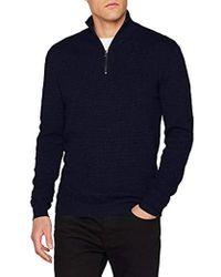 Esprit 998ee2i804 suéter - Azul