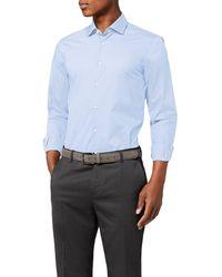 Tommy Hilfiger Core Stretch Poplin Slim Shirt Business - Blue