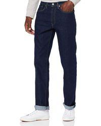 Levi's Herren Jeans 514 Straight Fit - Blau