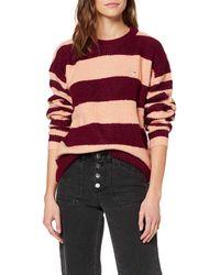 Tommy Hilfiger Tjw Bold Stripe Crew Sweater Sudadera - Multicolor